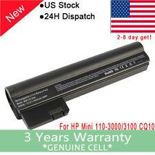 Battery for HP Mini 110-3000 Compaq Mini CQ10-400 HSTNN-CB1U HSTNN-E04C CQ10-500