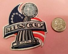 "MLS Major League Soccer Cup  vintage iron-on embroidered logo patch 3"" x 3"""