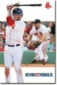 """Brand New/Sealed """"Kevin Youkilis Boston Red Sox #20 Poster"""" (Licensed MLB)"""