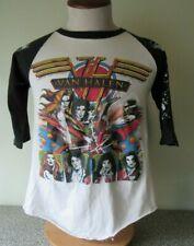 Vintage Van Halen Raglan Concert T-shirt Woman and Children First 1980 size M