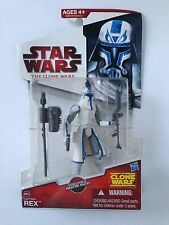 Star Wars Captain Rex Snow The Clone Wars CW50 Action Figure 2009