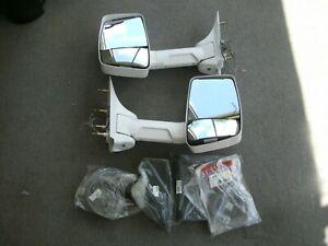 Ford E Series van Velvac manual mirrors white