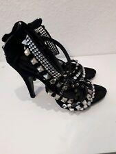 ZARA Nieten LEDER  Sandale  Schuh Pumps High Heels Blogger gr. 37