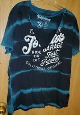 AFFLICTION; FAST AND THE FURIOUS BY AFFLICTION EDITION SIZE XL SHORT SLEEVE