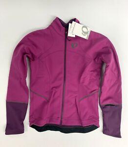 Pearl Izumi Womens Elite Escape Softshell Jacket Size Medium Purple New with Ta