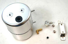 Clear Anodized Steel Brake Vacuum Canister Reservoir Tank Brake Booster Can