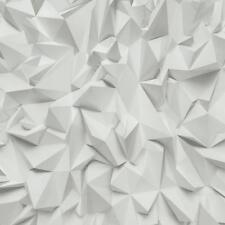 P S Times 42097-10 Design Architectural Objects 3D Light Gray Fleece Wallpaper