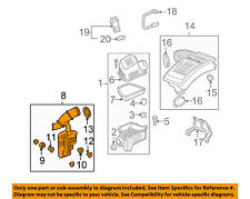 Chevrolet GM OEM 2016 Equinox Air Cleaner Intake-Intake Duct Tube Hose 23497383