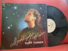 "CLIFF TURNER Moonlight Affair 12"" NEAR MINT RARE 86' ITALO DISCO PORTUGAL PRESS"