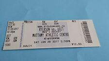 2017 CIS/USPORTS MEN'S HOCKEY RYERSON RAMS/UOIT TICKET STUB