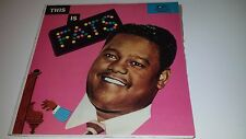 FATS DOMINO - THIS IS FATS - IMPERIAL 9040 LP