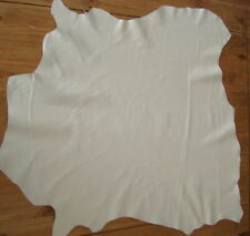 WHITE NAPPA  LEATHER-- #3200