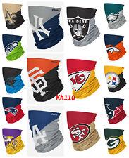 NFL Team Logo Neck Gaiter Multi use-Unisex-Adult Size