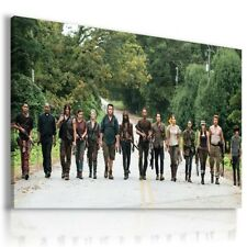 THE WALKING DEAD ZOMBIE RICK MICHONNE CARL Canvas Wall Art Picture WD33 MATAGA .