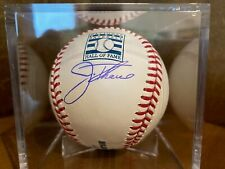 Indians Jim Thome Signed Hall of Fame Baseball