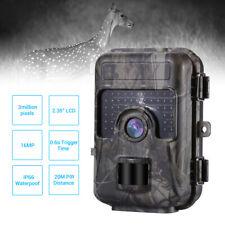 Trail Game Camera 16MP HD 1080P Wildlife Hunting Cam Night Vision Waterproof AU!