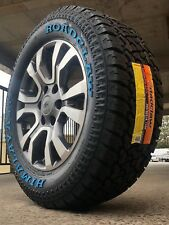 Ford Ranger Wildtrak 18 Inch Genuine Wheels And New All Terrain Tyres