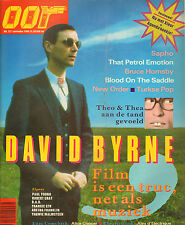 MAGAZINE OOR 1986 nr. 22 - ALICE COOPER / NEW ORDER / THEO & THEA / DAVID BYRNE