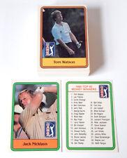 1981 Donruss Golf Complete Set (66) Nm/Mt Nicklaus RC