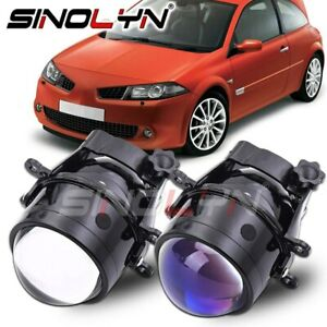 Fog Lights Projector For Renault Duster/MEGANE 2 3/Captur/Clio/LOGAN HID Tuning