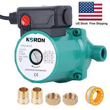 Circulator Pump NPT3/4'' Hot Water Recirculating Pump 3-Speed Circulating Pump
