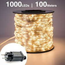 100m LED String Lights street fairy Light Waterproof for Outdoor Christmas Fairy