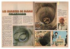 1973 DOCUMENT (ref PEL 4742) LES MARMITES DU DIABLE FINLANDAISES   2p