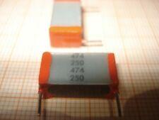 F148 Kondensatoren,Kondensator,Folienkondensator 5x 10nF 250V-