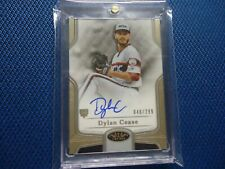 2020 TOPPS TIER ONE AUTO DYLAN CEASE CHICAGO WHITE SOX BOA-DCE 48/299 ROOKIE ON