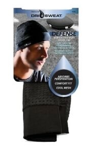 FIRSTLINE DRISWEAT EXTREME MEN'S ACTIVE SPORTS CAP BLACK COLOR W/ FREE SHIPPING!