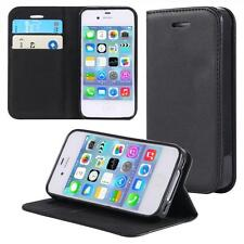 Apple iPhone 4 4S  Custodia Flip Portafoglio Case  Cover Wallet Etui