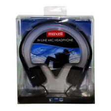 Auriculares Maxell M410 Hp-mic azul