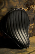 Motorcycle Solo Bobber Seat S Chopper Custom Softail Harley Leather handmade