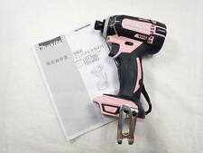 NEW MAKITA TD149DZP Carbon Brush 18V IMPACT DRIVER Pink Japan F/S EMS