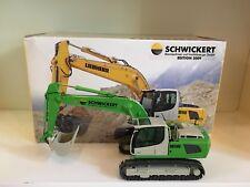 """Liebherr R 916 Kettenbagger """"SCHWICKERT"""" von NZG 685 1:50 OVP"""