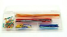 140Pcs U Shape Solderless Breadboard Jumper Cable Wire Kit For Arduino Shield