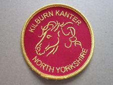 Kilburn Kanter North Yorkshire Walking Hiking Cloth Patch Badge (L3K)