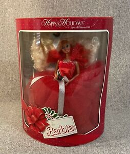 1988 Happy Holiday Barbie Gran Gala NOS 1st Barbie in Holiday Series