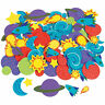500 Fabulous Foam Self-Adhesive Space Shapes - Craft Supplies - 500 Pieces