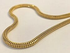 22k 916 Gold Necklace 18 Inches, 20.0 grams, 3.0mm