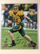 "Carson Wentz Signed 8""x10"" Autographed North Dakota State Photo Fanatics Eagles"