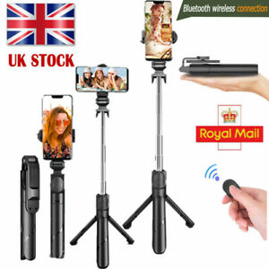 Telescopic Selfie Stick Bluetooth Tripod Monopod Phone Holder For iPhone Samsung