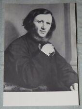 Robert Browning - Vintage Black & White Postcard - National Portrait Gallery