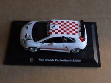 Leo Models CAR DIE CAST 1:43 NEW - FIAT GRANDE PUNTO ABARTH S2000  [MV-8 ]