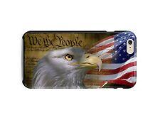 USA Patriotic Eagle Flag iPhone 4S 5S 5c 6S 7 8 X XS Max XR 11 Pro Plus Case ip3