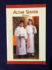 """ALTAR SERVER MANUAL for YOUNGSTERS,  6"""" W x 9"""" H 32 pages Soft-cover  *NEW*"""