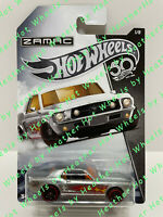 2018 HOT WHEELS '67 FORD MUSTANG COUPE #1/8 ZAMAC