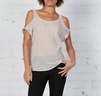 New Bailey 44 Striped Fatoush Top Size Small MSRP $128