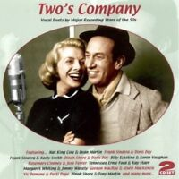 TWO'S COMPANY - VOCAL DUETS BY STARS OF THE 50's - DORIS DAY - 2 CD NEW!