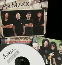 Snapshot by Anthrax NEW! CD , Metal Rock 10 Tracks w/ 4 color snapshots Band